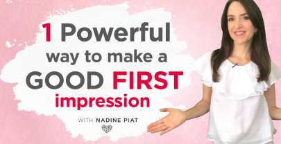 1 Powerful Way To Make A Good First Impression