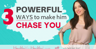 3 Powerful Ways To Make Him Chase You
